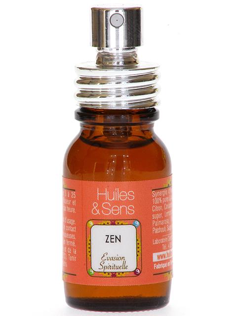 spray d 39 huiles essentielles zen huiles sens aromatherapie. Black Bedroom Furniture Sets. Home Design Ideas