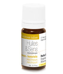 huile essentielle hélichryse (immortelle)