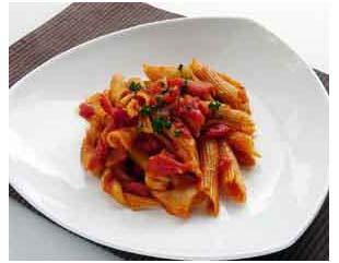 Recette de cuisine : Pennes aux huiles essentielles de basilic et de romarin penne