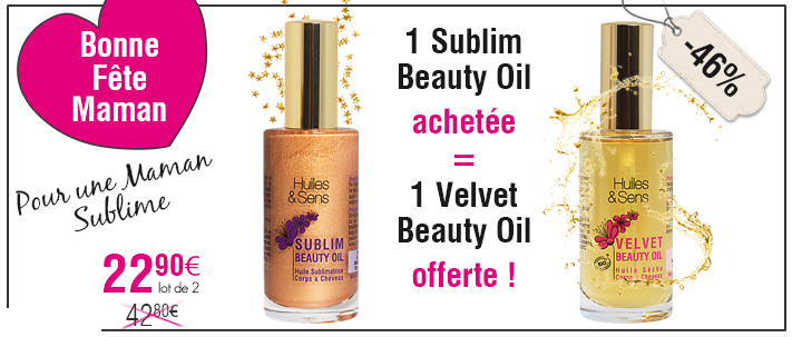 Sublim beauty oil achet�e, Velvet beauty oil offerte