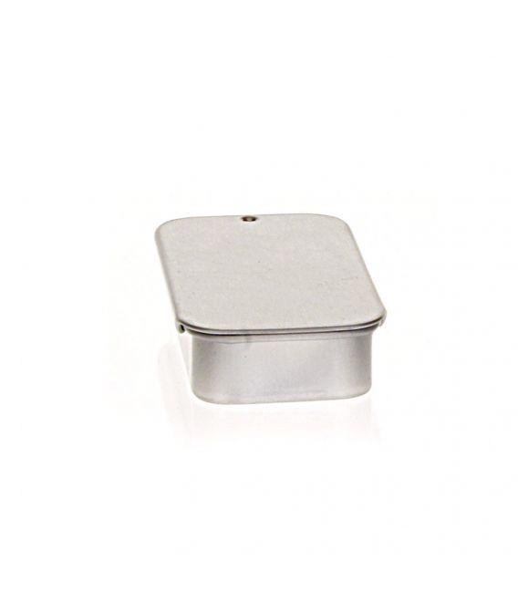 Boite métal + couvercle coulissant