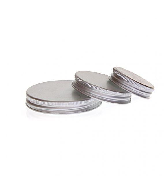 Couvercles en aluminium pour pot en verre