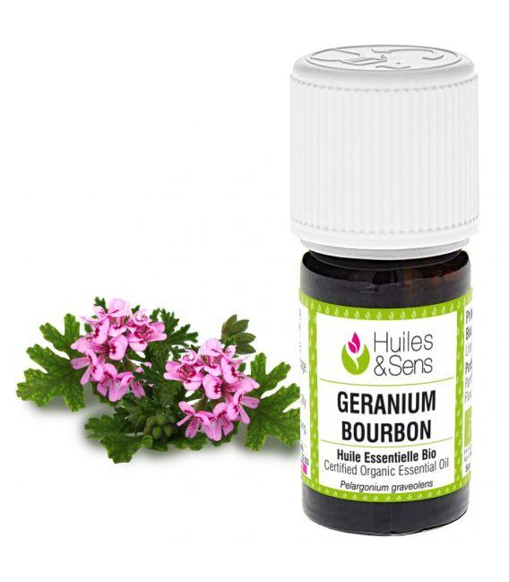 huile essentielle géranium bourbon (bio)