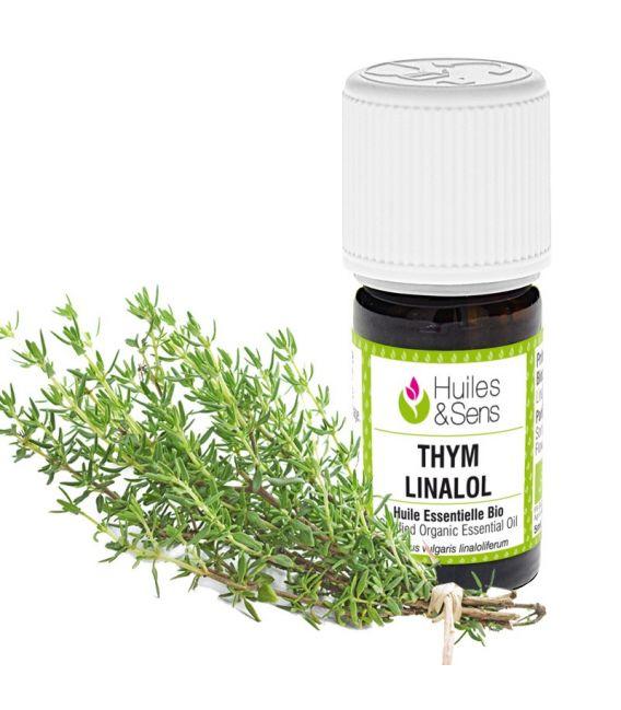 huile essentielle thym à linalol (bio)