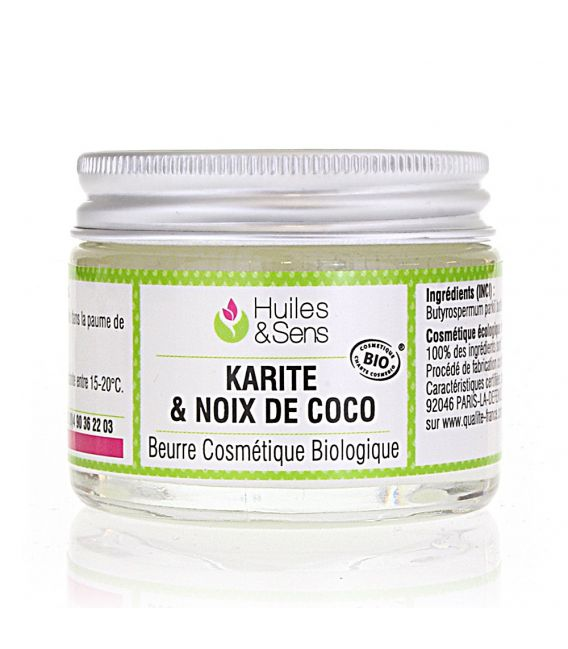 Beurre de Karité & Noix de Coco Bio