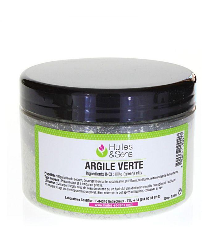 argile verte peau grasse