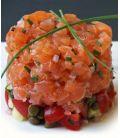 Recette de cuisine tartare de saumon