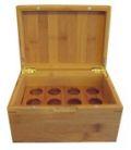 Bambus - Holz Schachtel für ätherische Öle - klein