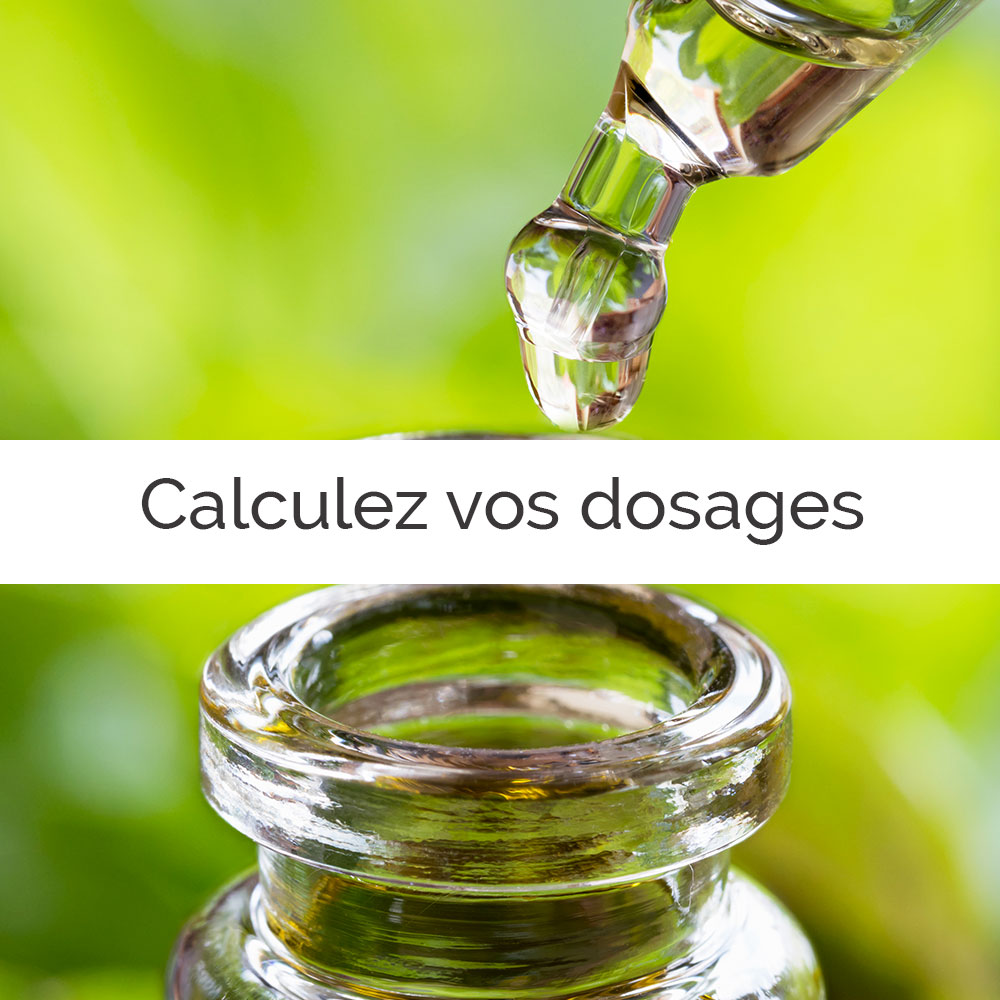 Calculez vos dosages