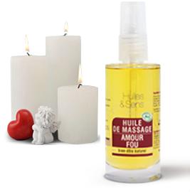 «Amour Fou» Massage Oil